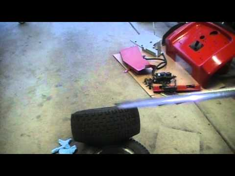Making a tire valve removal tool