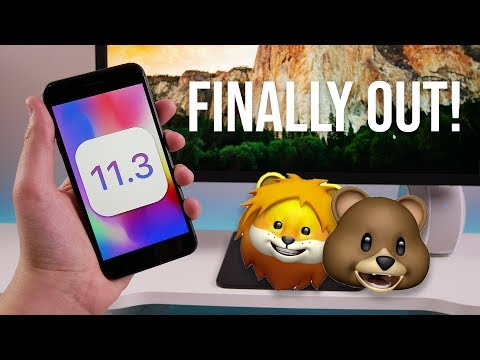 iOS 11.3 Released to the Public! Battery Health, New Animojis & More!