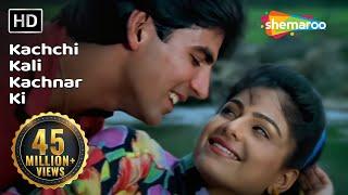 Kachchi Kali Kachnar Ki , Akshay Kumar , Ayesha Jhulka , Waqt Hamara Hai , Bollywood Songs , Asha