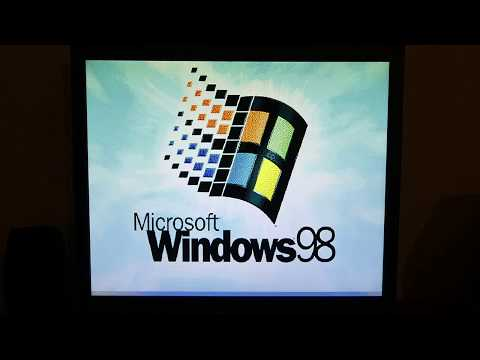 NEC PC9821 v13 Windows 98 demonstration (3dfx, DirectX, games, tools)