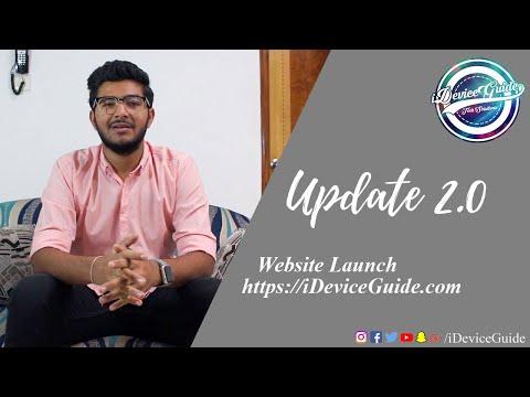 Update 2.0! - Website Launch