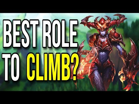 Strongest Role to Carry with in Season 8 - League of Legends
