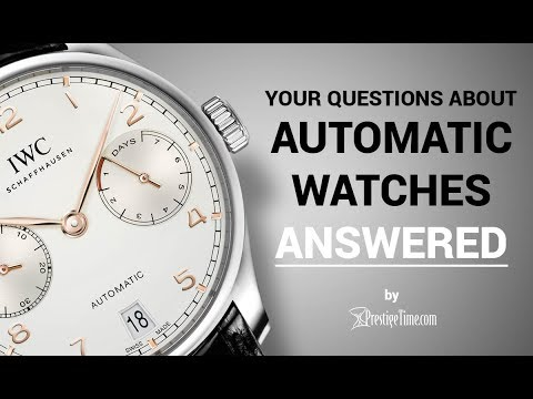 Automatic Watches FAQ: Top Questions Answered