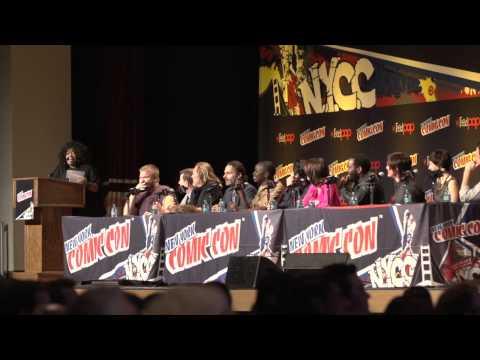 AMC's NYCC Walking Dead Panel 2013