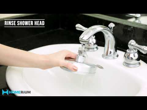 HomeRium Aluminum Filtered Shower Head With Antibacterial Energy Balls