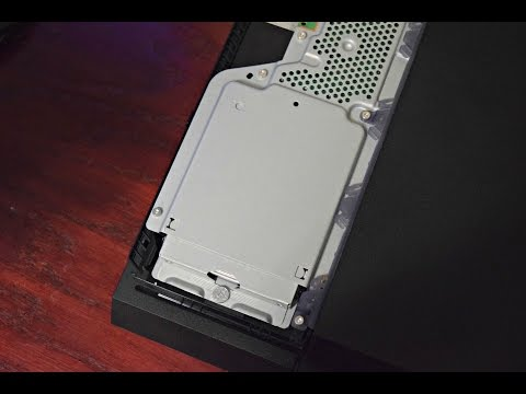How to Change/Upgrade PS4 Hard Drive (CUH-1200) NEW PS4 MODEL