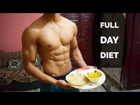 Full day of Eating | Indian Bodybuilding Diet | Vikas Choudhary