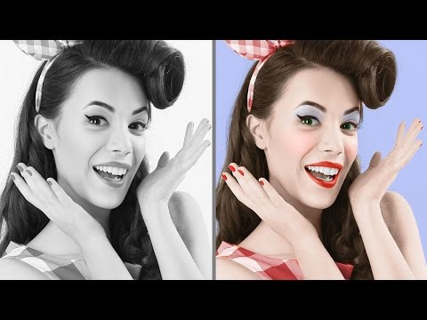 Photoshop Tutorial: Best Way to Colorize Black & White Photos!