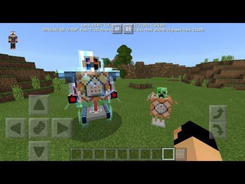 Spawning The Command Block Machine - Minecraft Pocket Edition