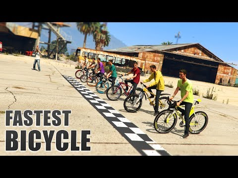 GTA V - Which is the Fastest Bicycle?