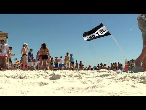 Xxx Mp4 Video Catches Spring Break Rape On Florida Beach No One Helps 3gp Sex