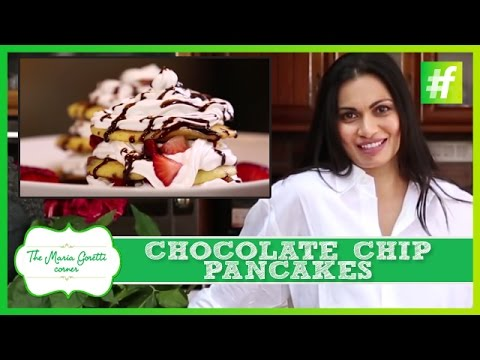 How to Make Special Chocolate Chip Pancakes | Maria Goretti