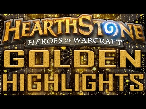 Hearthstone - Golden Card Highlights (Classic & GVG Packs)