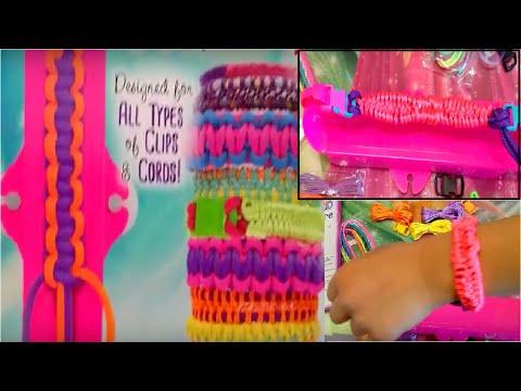 Just My Style Paracord Loom Bracelet Kit  : Create 8 trendy bracelets