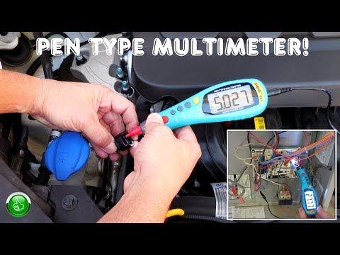 Pen Type Digital Multimeter(One Hand Operation)