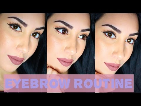 Eyebrow Tutorial | My eyebrows are TATTOOED ON?!!