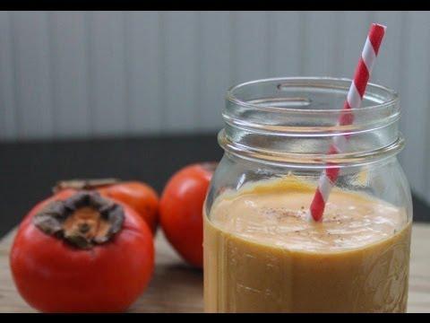 Persimmon & Coconut Smoothie Recipe