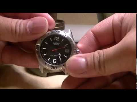 Change a Battery on a Lorus Watch from ayoswayches