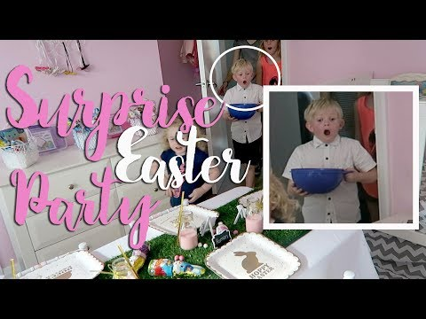 Surprise Easter Party!