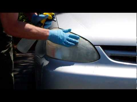 How-To: Fix your oxidized headlights using Wipe New