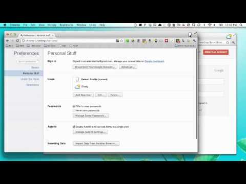 How Multiple User Accounts Work in Google Chrome