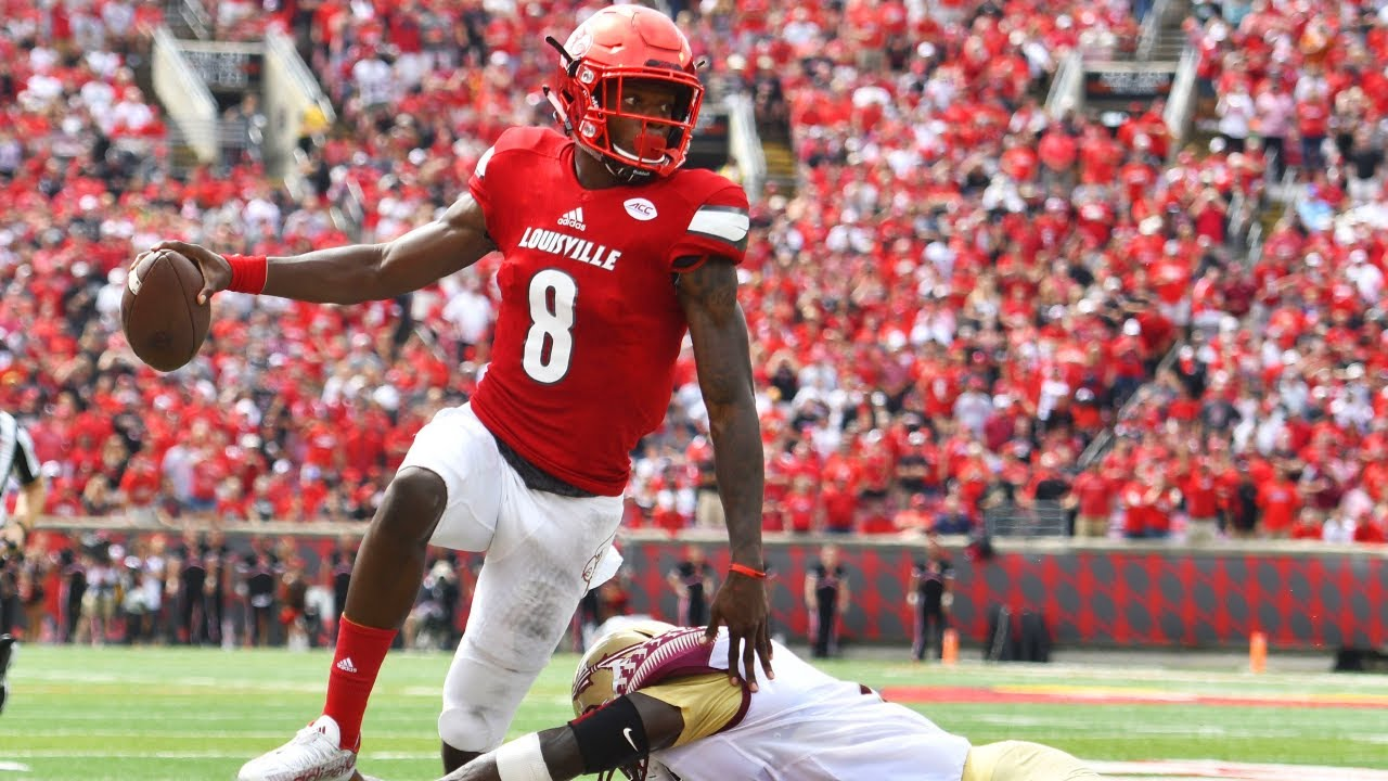 The Time Lamar Jackson Blew Out #2 Florida State
