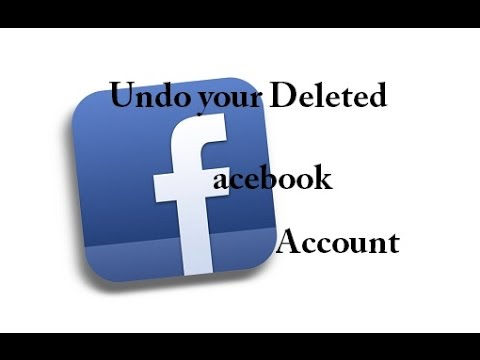 how to Get Back your Deleted Facebook account - Urdu/Hindi