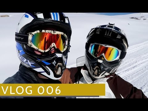 SNOWMOBILING IN VAIL COLORADO  // Week 6 // From Boulder to Vail Travel Vlog