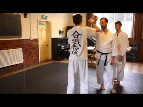 Aiki-Lab-x Wales 2016 - Non-technique aikido training using random attacks with resistance (Part 4)