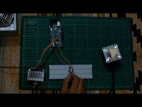 5 Phase stepper motor variable speed using Arduino