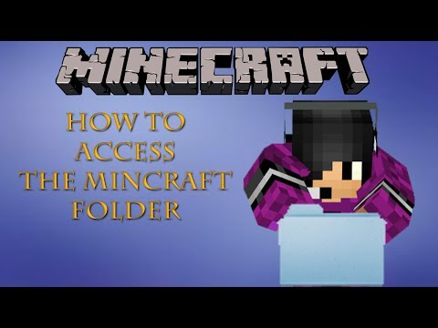 How To Access The Minecraft Folder (Mac)