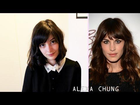 Hair tutorial | Alexa Chung inspired messy curls