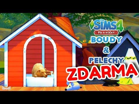🐕 FUNKČNÍ BOUDY, PELECHY & HRAČKY pro mazlíčky 🐶 | The Sims 4 Psi a kočky