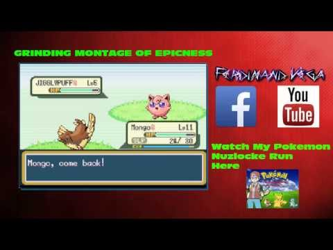 Pokemon Fire Red Grinding ep:1
