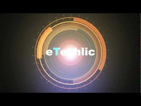 eTechlic animated logo