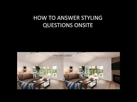 How To Answer Real Estate Client Styling Questions Onsite
