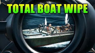 Total Boat Wipe | PlayerUnknown