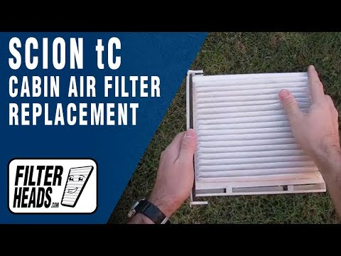 How to Replace Cabin Air Filter Scion tC