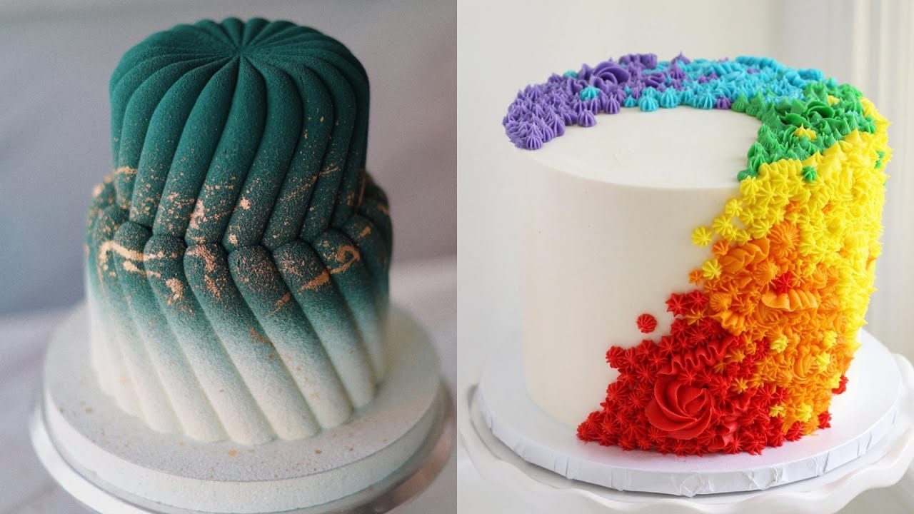 More Amazing Cake Decorating Compilation   So Yummy   Most Satisfying Cake Videos