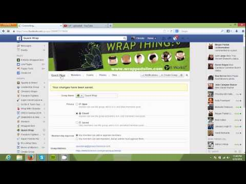 How To Create a Facebook Group and Like Page