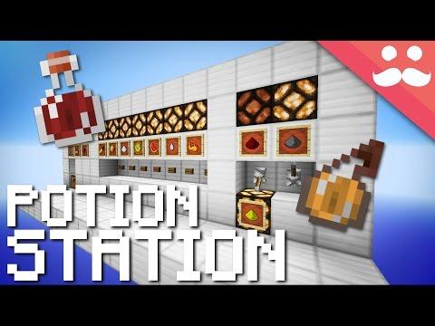 Minecraft: Mega Potion Brewing Station!