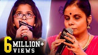 Vaikom Vijayalakshmi & Uthara's 2 mesmerizing live performances