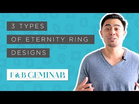 3 Types of Eternity Ring Designs