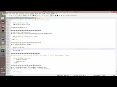 Deny IP from htaccess
