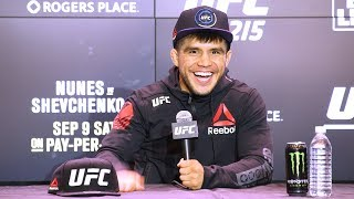 UFC 215: Henry Cejudo Post-Fight Press Conference – MMA Fighting