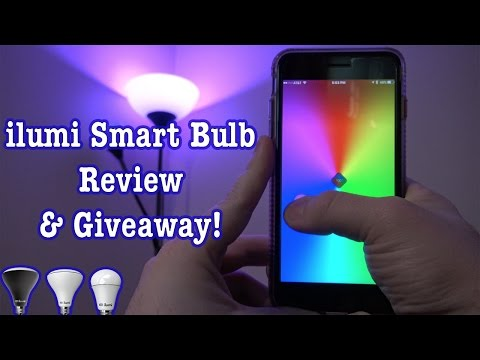 ilumi SmartBulb Review + GIVEAWAY!