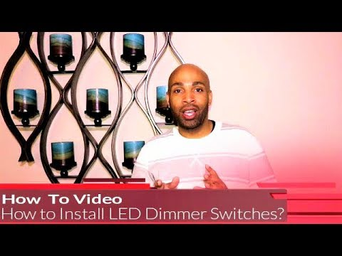 How To Install A LED Dimmer with Switch?
