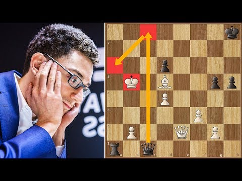 The Only Winning Move! | Anand vs Caruana | Norway Championship 2018 | Round 8