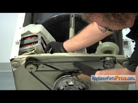 Washer Pump and Drive Belt Kit (part #12112425) - How To Replace