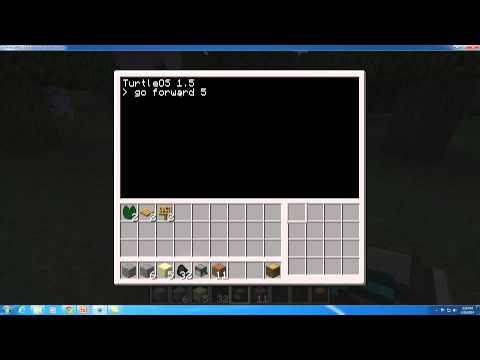 MinecraftEDU ComputerCraft Turtle Programming